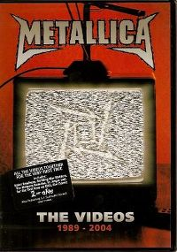 Cover Metallica - The Videos 1989 - 2004 [DVD]